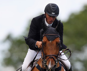 Mark Armstrong British Jumping Derby Meeting