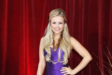 Carly Stenson British Soap Awards 2010 - Outside Arrivals