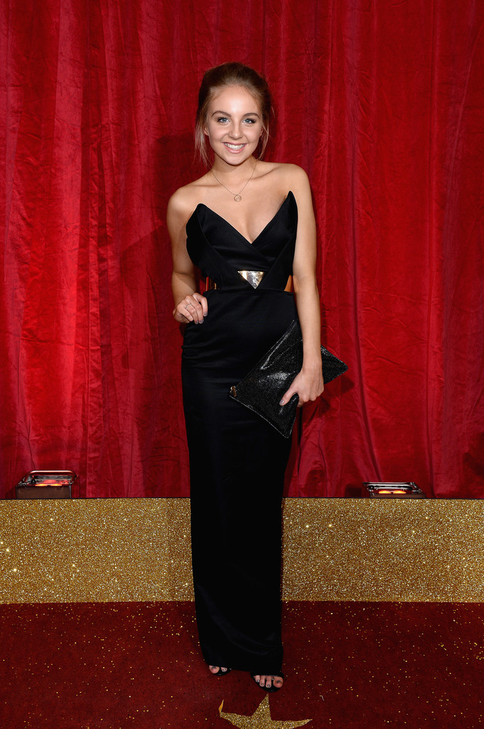 Eden Taylor Draper Photos British Soap Awards 2016 Red