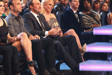 Britney Spears David Lucado Backstage and Audience at the People's Choice Awards