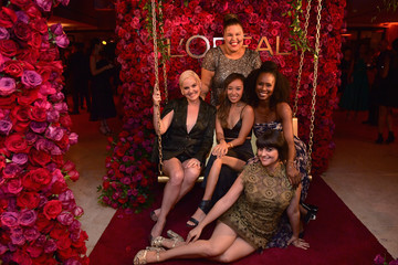 Britney Young Kimmy Gatewood Entertainment Weekly And L'Oreal Paris Hosts The 2018 Pre-Emmy Party - Inside