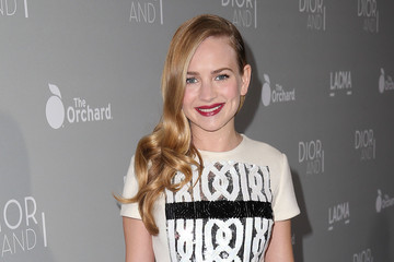 Britt Robertson Premiere Of The Orchard's 'DIOR & I' - Red Carpet