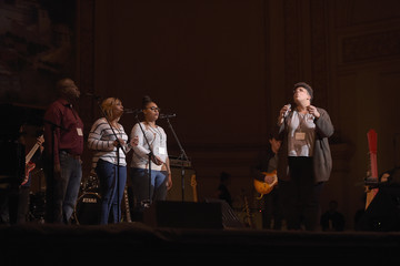 Brittany Howard Tibet House US 30th Anniversary Benefit Concert & Gala Celebrating Philip Glass's 80th Birthday - Rehearsal