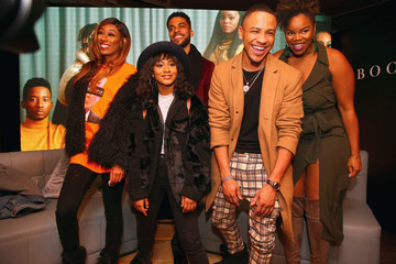 Brittany Inge BET Presents 'Boomerang' Screening & Fireside Chat With Lena Waithe, Ben Cory Jones And Dime Davis At MACRO During Sundance Film Festival