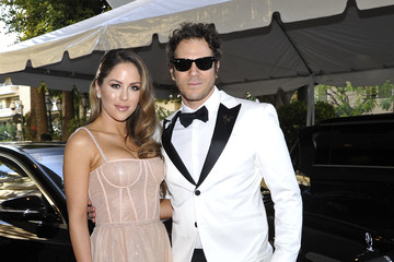 Brittney Palmer Gregory Siff Mercedes-Benz USA Awards Viewing Party At Four Seasons, Beverly Hills, CA