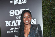 Emayatzy Corinealdi attends The Broad Museum celebration for the opening of Soul Of A Nation: Art in the Age of Black Power 1963-1983 Art Exhibition at The Broad on March 22, 2019 in Los Angeles, California.