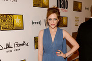 Carly Chaikin at the Critics' Choice Television Awards - Best Dressed at the 2013 Critics' Choice Television Awards