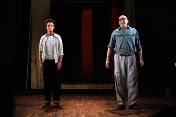 """Alfred Molina Broadway Opening Of """"RED"""" - Arrivals And Curtain Call"""