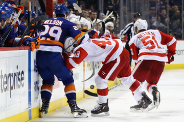 Brock Nelson Detroit Red WIngs v New York Islanders