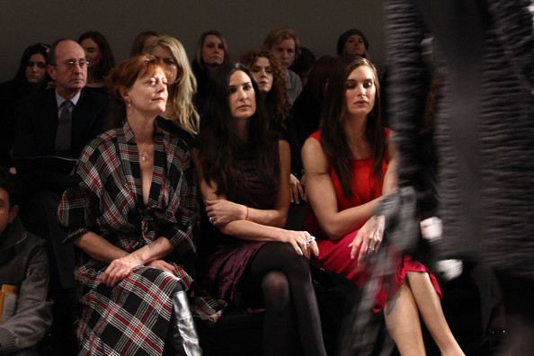 Donna Karan Collection - Front Row - Fall 2010 MBFW