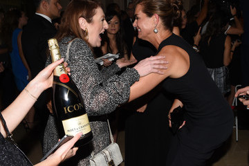 Brooke Shields Moet & Chandon Toasts to Harper's Bazaar Icons - Inside