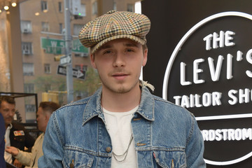 Brooklyn Beckham Levi's Tailor Shop Launch Event At Nordstrom Men's Store NYC Hosted By Brooklyn Beckham