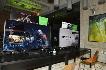 Brooklyn Beckham Liam Payne, Chloe Grace Moretz, Brooklyn Beckham and Caleb McLaughlin Host Xbox One x VIP Event & Xbox Live Session in New York City