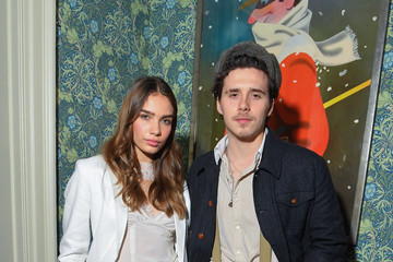 Brooklyn Beckham Victoria Beckham x YouTube Fashion & Beauty After Party At London Fashion Week Hosted By Derek Blasberg And David Beckham