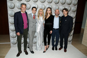 (L-R) Arthur Wayne, Zac Posen, Rachel Zoe, Elizabeth Chambers, Fisher Pence and Rodger Berman attend Brooks Brothers Annual Holiday Celebration To Benefit St. Jude at The West Hollywood EDITION on December 07, 2019 in West Hollywood, California.