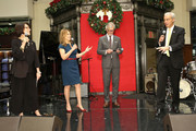(L-R) Emilie Antonetti, Marlo Thomas, Claudio Del Vecchio, and Rick Shadyac attend an evening hosted by Brooks Brothers to celebrate the holidays with St. Jude Children's Research Hospital at Brooks Brothers on December 13, 2016 in New York City.