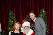 Marlo Thomas and Matthew Morrison attend the Brooks Brothers And St Jude Children's Research Hospital Annual Holiday Celebration In New York City on December 18, 2018 in New York City.