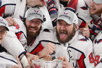 Brooks Orpik Alex Ovechkin 2018 NHL Stanley Cup Final - Game Five