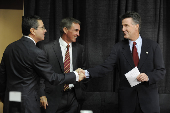 Daniel Snyder, Mike Shanahan and Bruce Allen, Washington Redskins