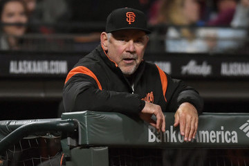 Bruce Bochy Colorado Rockies v San Francisco Giants