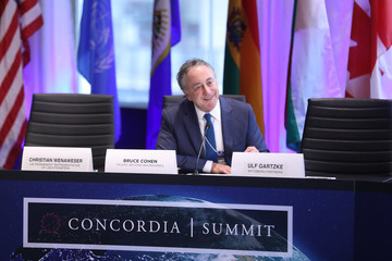 Bruce Cohen 2016 Concordia Summit Convenes World Leaders to Discuss the Power of Partnerships - Day 2