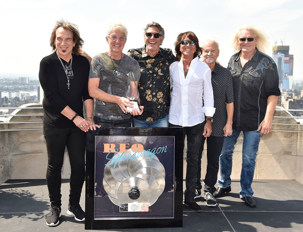 Bruce Hall Photos Photos - REO Speedwagon Receives RIAA Diamond