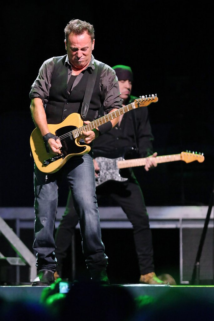 Bruce Springsteen And The E Street Band Perform At Madison Square Garden Zimbio
