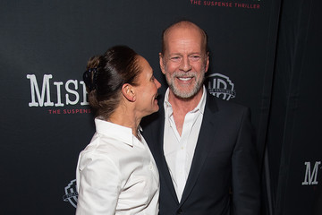 Bruce Willis 'Misery' Broadway Opening Night - After Party