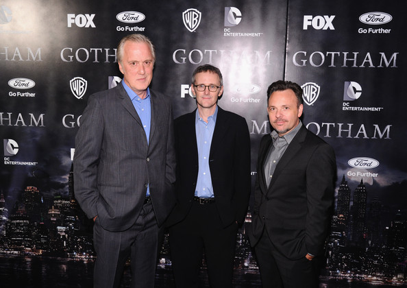 'Gotham' Premieres in NYC [premiere,event,white-collar worker,suit,bruno heller,danny cannon,john stephens,gotham premieres,l-r,nyc,gotham,the new york public library,series premiere]