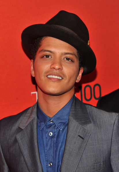 Bruno Mars Musician Bruno Mars attends the TIME 100 Gala, TIME'S 100 Most Influential People In The World at Frederick P. Rose Hall, Jazz at Lincoln Center on April 26, 2011 in New York City.