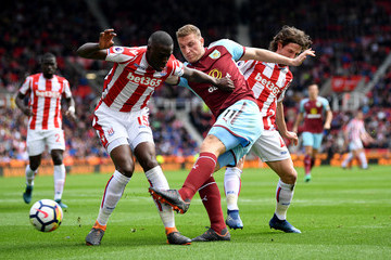 Bruno Martins Indi Stoke City vs. Burnley - Premier League