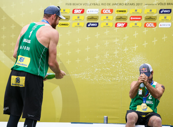 FIVB Beach Volleyball World Tour Rio - Day 4 []