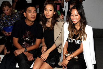 Bryan Boy TRESemme at 3.1 Philip Lim Spring Summer 2015 - Backstage/Front Row