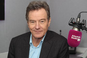 Bryan Cranston visits Pete Donaldson at Absolute Radio on March 23, 2018 in London, England.
