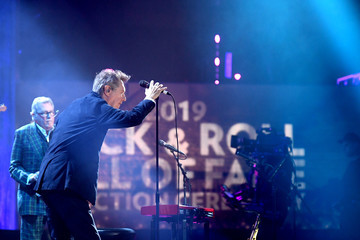Bryan Ferry Andy Mackay 2019 Rock And Roll Hall Of Fame Induction Ceremony - Show