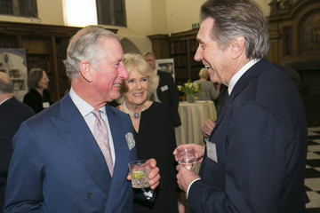 Bryan Ferry The Prince of Wales & Duchess of Cornwall Attend the Friends of the National Libraries Reception