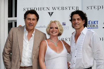Bryan Ferry Stephen Webster Bryan Ferry Press Conference in Marbella