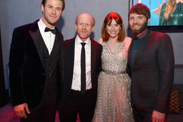 Bryce Dallas Howard Ron Howard Celebs at the Universal/NBC/E! Golden Globes Afterparty