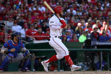 Bryce Harper Division Series - Los Angeles Dodgers v Washington Nationals - Game Two