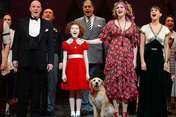 "Brynn O'Malley ""Annie"" Broadway Opening Night - Arrivals And Curtain Call"