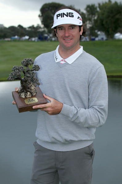 Bubba Watson Bubba Watson poses with the trophy after his win in the ...
