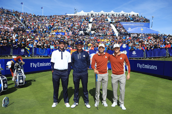 2018 Ryder Cup - Afternoon Foursome Matches []
