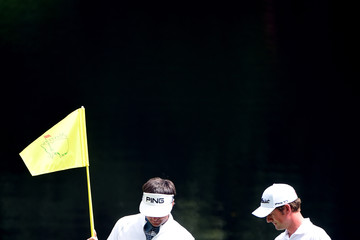 Bubba Watson Webb Simpson The Masters - Preview Day 3
