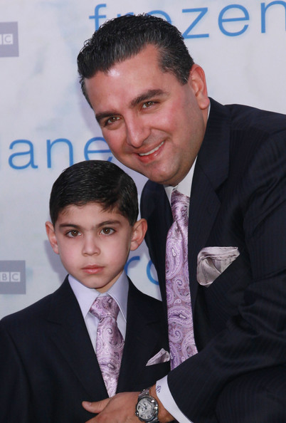 Photo of Buddy Valastro & his  Son  Buddy Valastro, Jr.