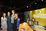 (L-R) Head of Brand at Bumble Alexandra Williamson, Cleo Wade, Sally Kohn and Esther Perel attend Bumble Presents: Empowering Connections at Fair Market on March 10, 2018 in Austin, Texas.