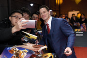 John Cena attends Paramount Pictures' red carpet for 'Bumblebee' on December 14, 2018 in Beijing, China.