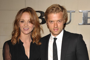 Jayma Mays Adam Campbell Burberry Body Launch - Arrivals