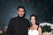 Jordan Spence and Naomi.Scott attend the gala dinner in honour of Edward Enninful, winner of the Global VOICES Award 2019, during #BoFVOICES on November 22, 2019 in Oxfordshire, England.