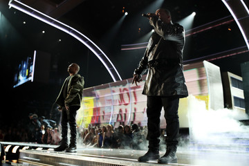 Busta Rhymes The 59th GRAMMY Awards -  Roaming Show