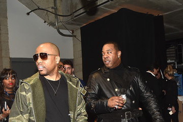 Busta Rhymes The 59th GRAMMY Awards -  Backstage